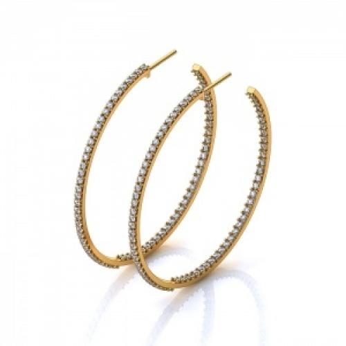 Серьги-кольца