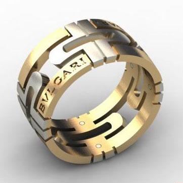 кольца булгари мужские фото