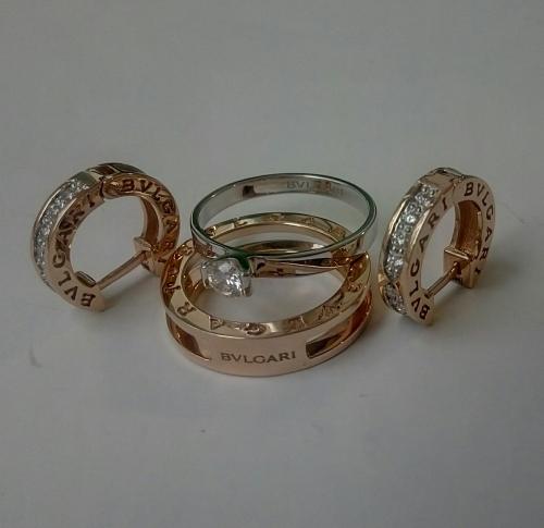 Кольцо Bvlgari Трансформер
