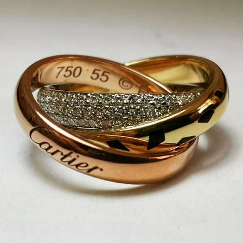 Обручальное кольцо Cartier 2